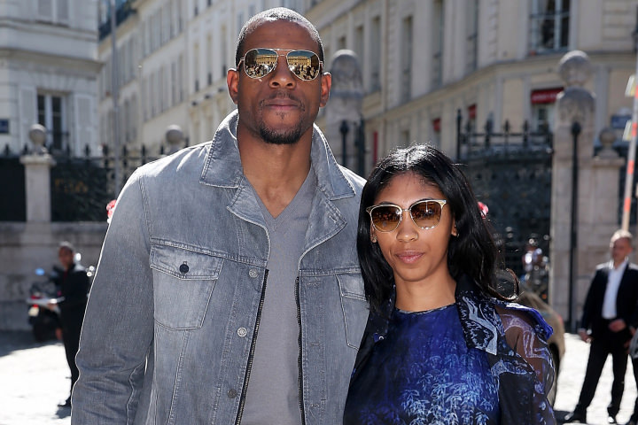 Christina Gutierrez and Andre Iguodala