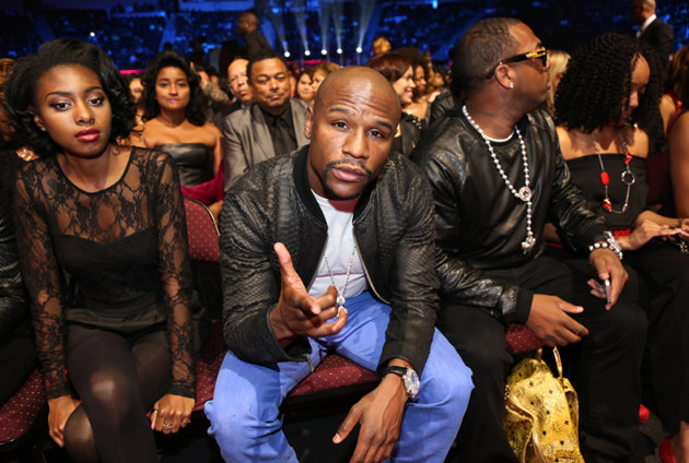 Doralie Medina and Floyd Mayweather