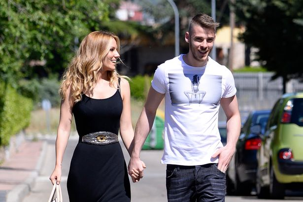Edurne Garcia and David de Gea