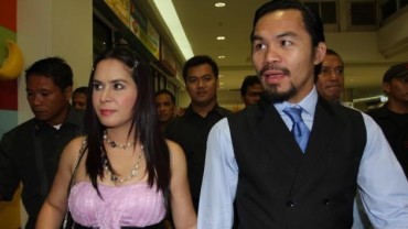 Jinkee and Manny Pacquiao
