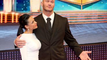 Kim Marie Kessler and Randy Orton together