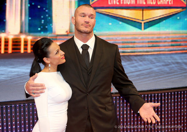 Kim Marie Kessler and Randy Orton together