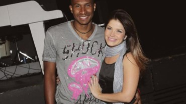 Samara Felippo and Leandro Barbosa