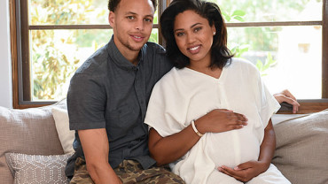 Stephen Curry and Ayesha Curry