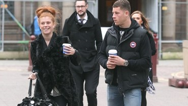 Zoe Riozzi and Ross Barkley